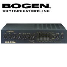 Bogen Public Address PA Gold Seal Amp Amplifier 100W 7 Inputs Mic Aux Tel GS100