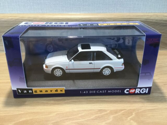 Ford Escort Mk4 XR3i Diamond White. Corgi Vanguard 14300