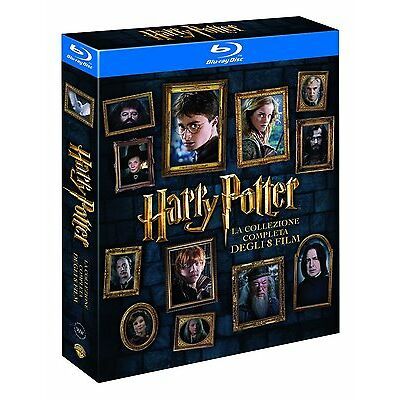 Harry Potter BOX Komplettbox 1-7.2 Teil 1+2+3+4+5+6+7.1+7.2 NEU OVP [Blu-ray]