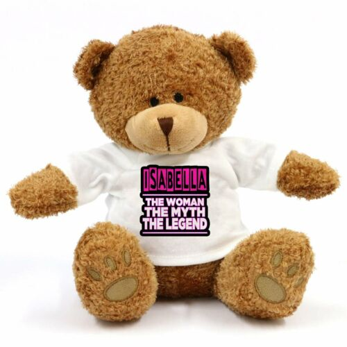Isabella Gift For Fun The Woman Legend Teddy Bear Myth