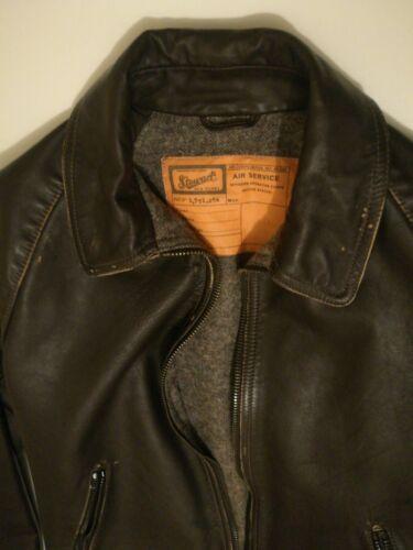 Leather Veste Nouveau Lavage Point Glory M Taille Veste Veau Taille Stewart Old cWPBgnZ7