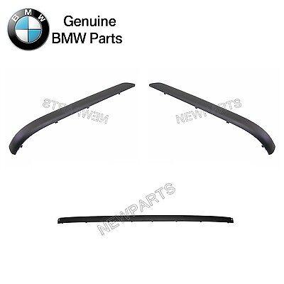 Genuine BMW E46 Sedan Bumper Trim Impact Strip Rear OEM 51128195315