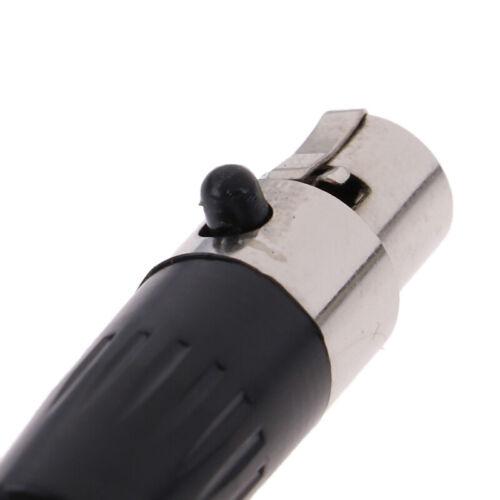 1 Stück Mini Xlr 3 4 Pin Buchse Kleine Xlr Audio Mikrofon Anschluss Für OX