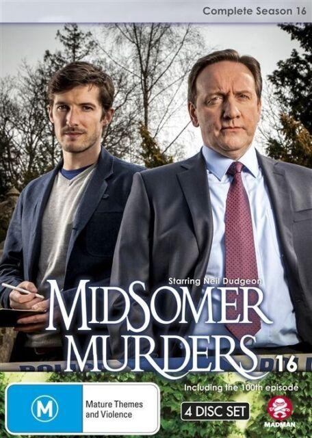 Midsomer Murders Complete Season 16 DVD   4 Disc Set   Region 4