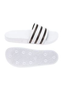 new arrival 1c85f 886f3 Image is loading Adidas-Originals-Flip-Flop-280648-White-Black
