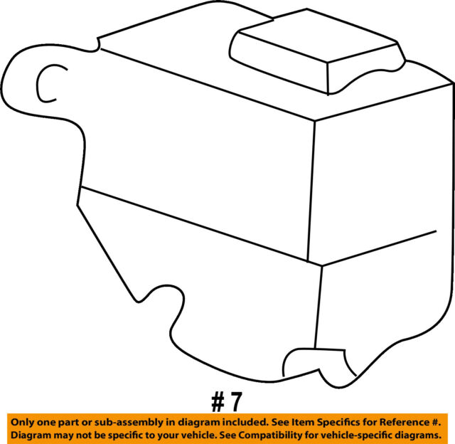 FORD OEM 05-11 Ranger Wiper Washer Fluid-Reservoir Tank Cap Lid F57Z17632AA