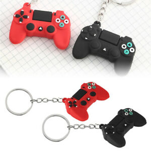 Game-Controller-PlayStation-PS4-Keychain-Video-Gaming-Keyring-Gamer-Gift