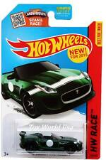 2015 Hot Wheels #185 HW Race Track Aces '15 Jaguar F-Type Project 7