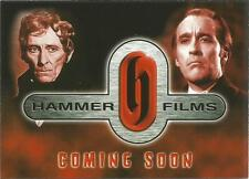 Hammer Horror Films Promo Trading Card from Cards Inc