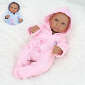 10-11 inch DIY Reborn Doll Clothes Outfit Newborn Baby Girl Boy Romper Pink Blue