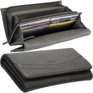 ESPRIT-Damen-Geldboerse-Taupe-Portemonnaie-Rina-Geldtasche-Geldbeutel-Brieftasche