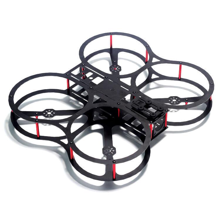 """Newbie Practice RC FPV Quadcopter Frame Kit Full Carbon Fiber Motor Predector 5"""""""