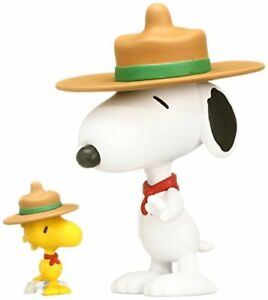 UDF-PEANUTS-Series-3-BEAGLE-SCOUT-SNOOPY-amp-WOODSTOCK-made-of-non-scale-PVC-Paint