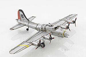 Merveilleux Image Is Loading B 17 Flying Fortress Bomber Metal Desk Model