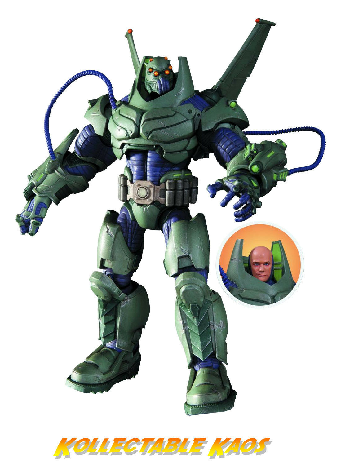 DC Super Villains - Superman - ArmoROT Lex Luthor 9