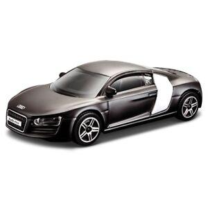BURAGO-1-64-AUDI-R8-Diecast-Toy-Car