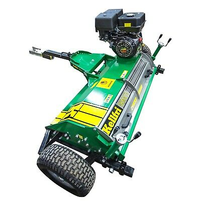 Kellfri 1.2mtr Quad Atv Flail Mower With Briggs And Stratton Engine £1500+vat To Invigorate Health Effectively Heavy Equipment Attachments Business & Industrial