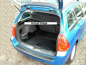 peugeot 307 estate rubber boot mat liner options and bumper protector ebay. Black Bedroom Furniture Sets. Home Design Ideas