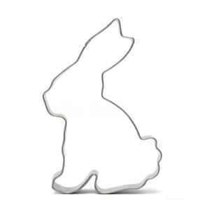 Rabbit Cookie Cutter Métal Lapin de Pâques Pâtisserie Biscuit gâteau gelée fondant moule