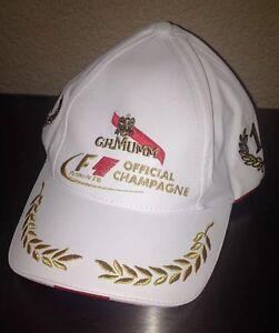 MUMM CHAMPAGNE FORMULA 1 RACING BASEBALL CAP VERY RARE LICENSED PRODUCT NEW 7qIw84dK-09090720-820408211