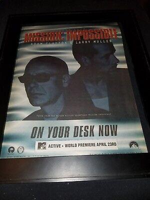 Adam Clayton Larry Mullen Jr. Mission Impossible Radio ...