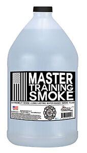 Master Training Smoke - Extremely Dense - Long Lasting - Water-Based Smoke Fluid