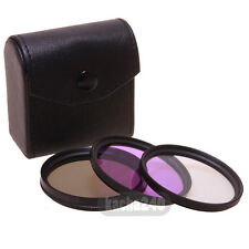 3pcs 58mm CPL+UV+FLD + Cap Filter CASE Kit for Canon EOS 450D 500D 600D 1100D