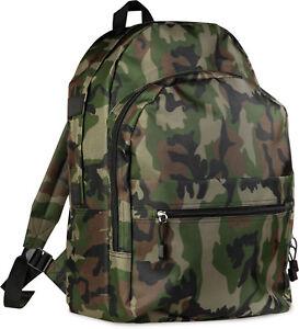 Zaino Militare Con Cerniera Trekking Campeggio Sacca Boy-scout Lavoro Mimetico Jkdogack-07234011-989977209
