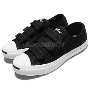 e28065885c6 Converse Jack Purcell 3V Low Canvas Black White Men Women Shoes ...