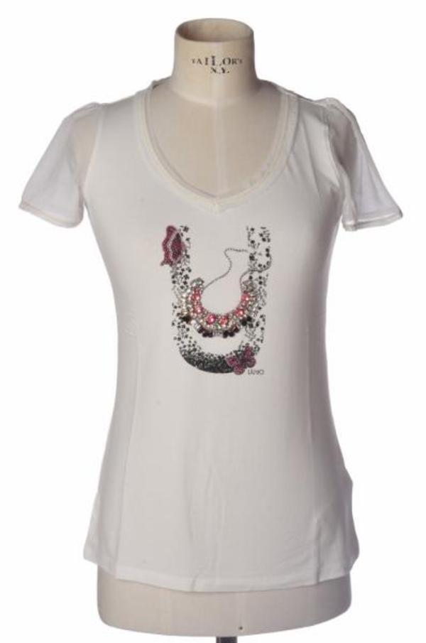 Liu-Jo - Topwear-Tops - Woman - Weiß - 1019018C185245