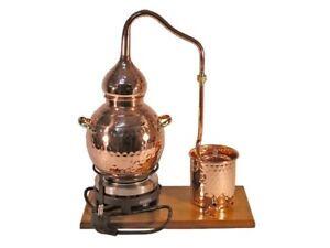 """""""CopperGarden"""" Destillieranlage alembik 2 L ❁ electrique ❁ légale distillerie-ge Alembik 2 Liter ❁ elektrisch ❁ legale Destilleafficher le titre d`origine ZbXITeP3-07132538-416500831"""