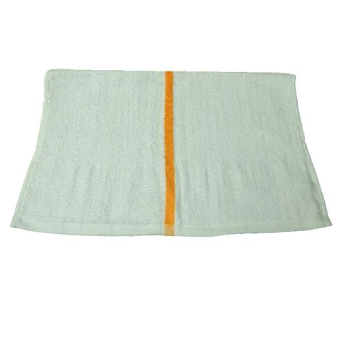 10lb box white //gold premium terry cloth towels bars 16x19 intex brand 28oz