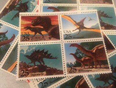 20 Dinosaur Stamps, Great For Announcements Or To Dress Up Your Mail