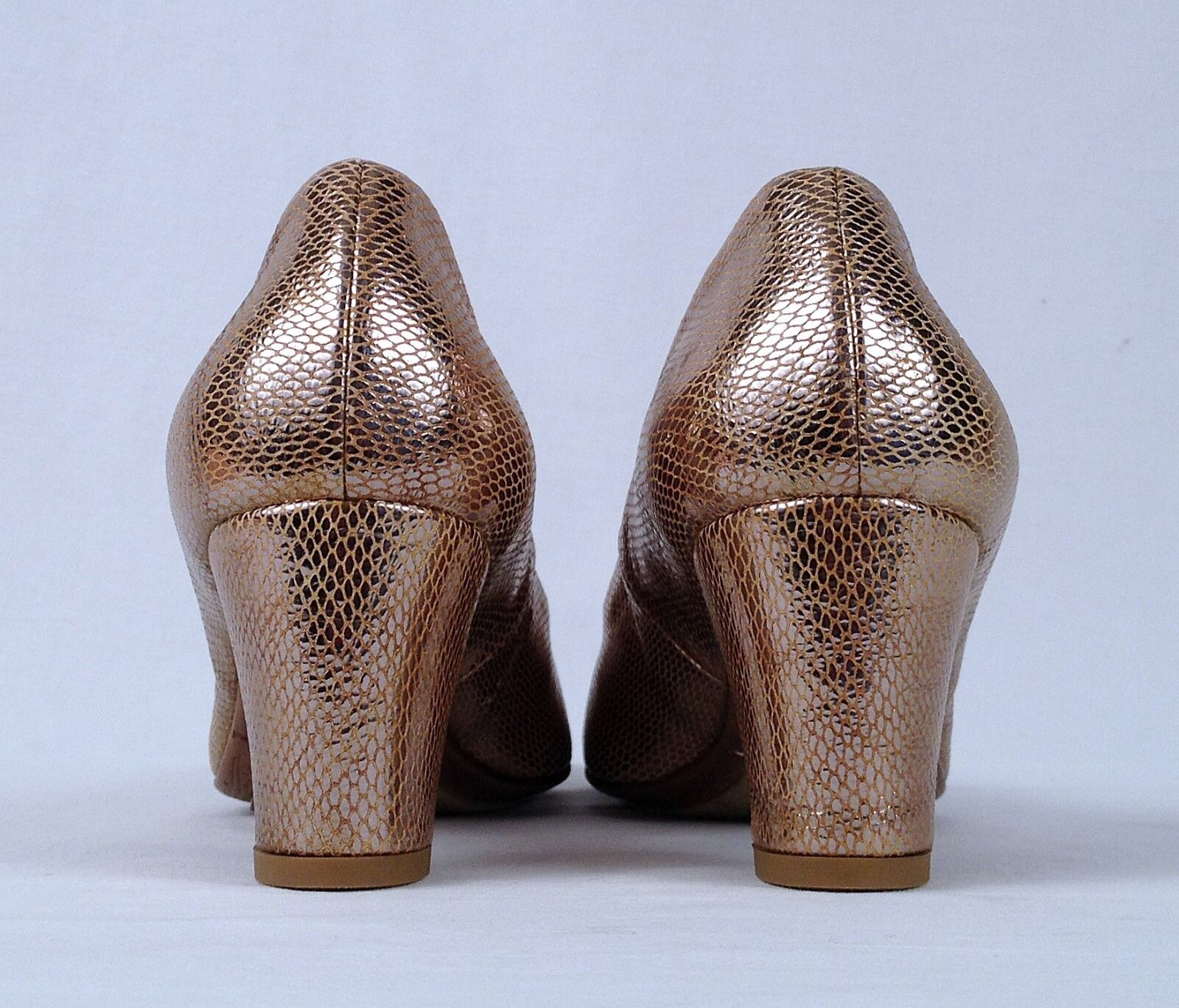 New Aquatalia by Marvin K  Metallic Gold  Pump- -375 Größe 8 M -375 Pump- (A1) 1ce007