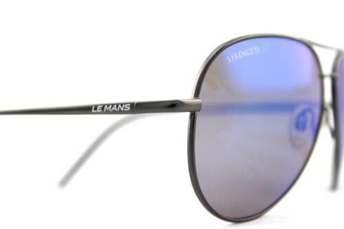 a5df3191f74 5 of 9 POLARIZED New SERENGETI PANAREA Le Mans 24h Satin Dark Gunmetal Sunglasses  8486