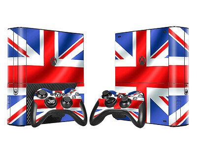 Romantic Xbox 360 E Skin Design Foils Aufkleber Schutzfolie Set Video Games & Consoles Union Jack 2 Motiv Factories And Mines