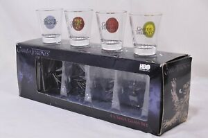 Games of Thrones Shot Glass Set boxed