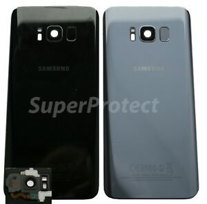 Genuine-Samsung-Galaxy-S8-G950-Rear-Back-Glass-Battery-Cover-Camera-LENS-Panel