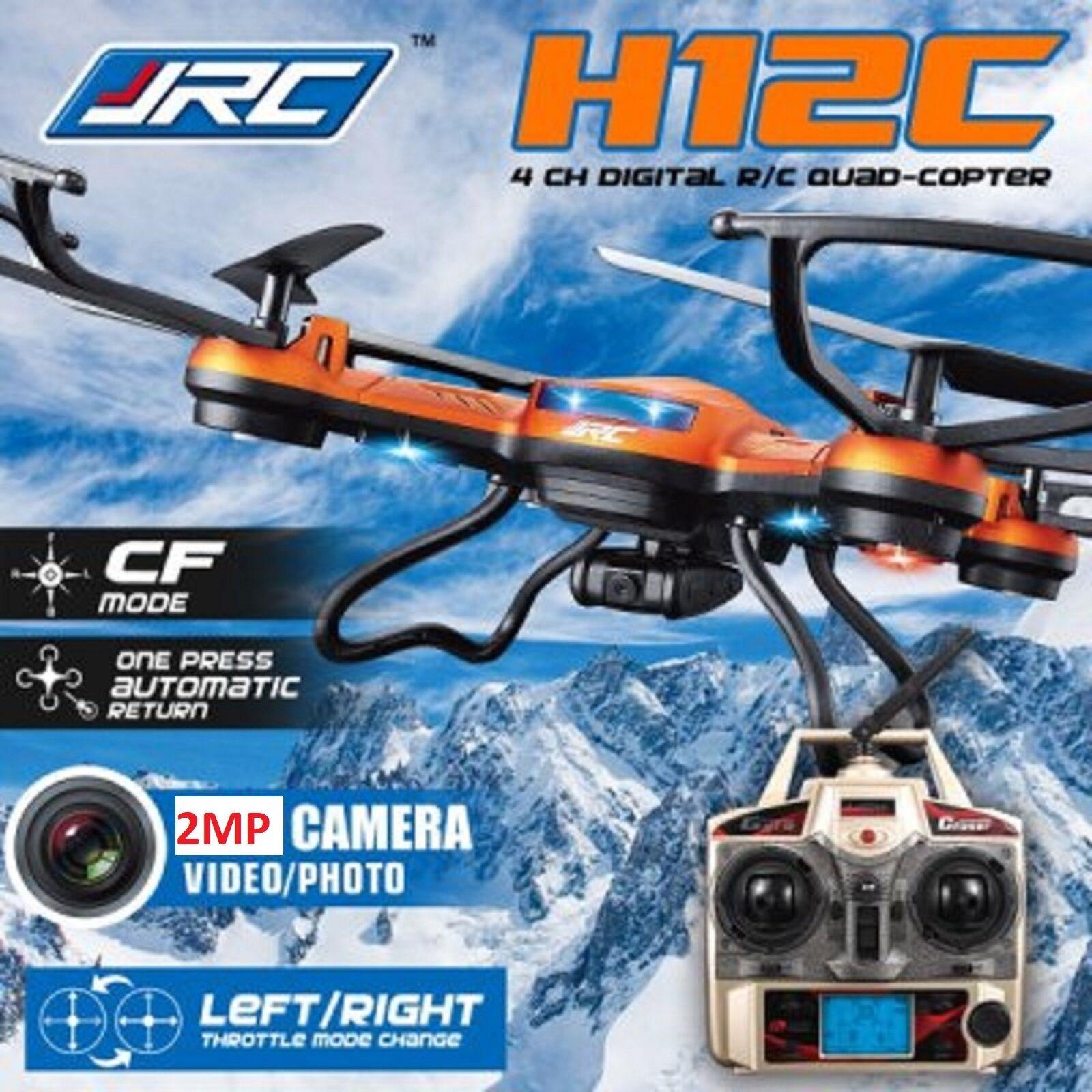 Genuine JJRC H12C - 2 2.4G LCD FPV Drone  2MP Quadcopter Helicopter Plane SD autod  connotazione di lusso low-key
