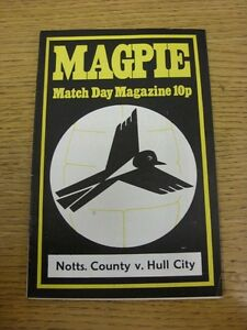 02111974 Notts County v Hull City  Faint Crease - <span itemprop='availableAtOrFrom'>Birmingham, United Kingdom</span> - Returns accepted within 30 days after the item is delivered, if goods not as described. Buyer assumes responibilty for return proof of postage and costs. Most purchases from business s - <span itemprop='availableAtOrFrom'>Birmingham, United Kingdom</span>