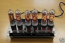 IN-14 Nixie Clock (6 NOS Tube Nixie Desk Clock)