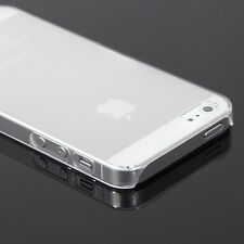 10x Ultra Slim Crystal Clear Case Hard Back Protector Cover for iPhone 5 5s