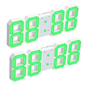 Sveglia-Da-Tavolo-A-LED-Da-Parete-Con-Orologio-Da-Parete-3D-2-Pezzi-Per