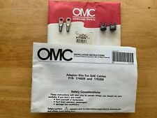 Johnson Evinrude OMC Adaptor Kit for SAE Cables 174925 NEW