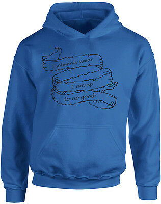 I Swear I Am Up To No Good Alternate, Harry Potter inspired Kids Printed Hoodie