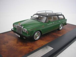 Rolls Royce Silver Shadow Flm Panelcraft Immobilier 1980 1/43 Matrix 11705-102