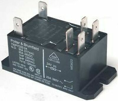 20A FLANGE 12VDC SPDT TE CONNECTIVITY // POTTER /& BRUMFIELD T9AP5D52-12 POWER RELAY