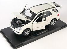 BLITZ VERSAND Mercedes-Benz ML 350 M-klasse cream Welly Modell Auto 1:18 NEU OVP