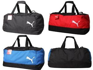 b94cf7a6793 Puma Pro Training 2 Medium Duffel Bags Soccer Running Black Bag ...
