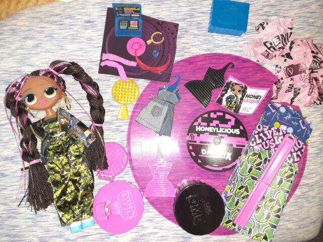 LOL Surprise REMIX OMG Fashion Doll HONEYLICIOUS w Music Set New in Open Box